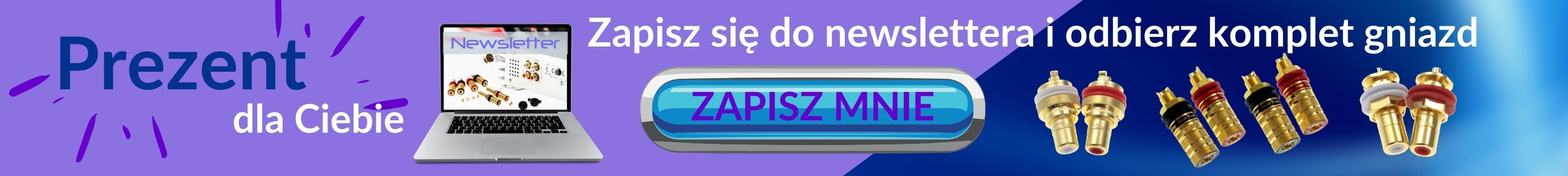 Formularz zapisu do newslettera