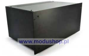 "Obudowa PESANTE 5U - 1PS05300N - panel 4mm Rack 19"" - CZARNY"